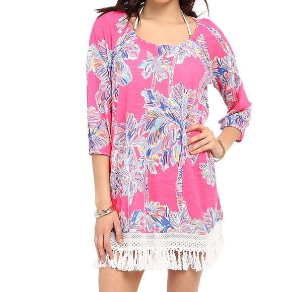 1f557e862196f Lilly Pulitzer Other - Lilly Pulitzer Alia Beach Coverup in Nice Stems